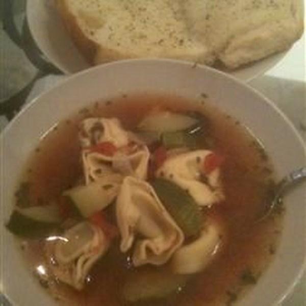 Receita de Sopa de Linguiça e Sopa de Tortellini do Joe