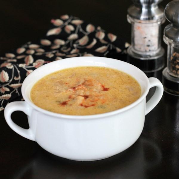 Receita de Sopa de Pote Instantâneo de Keto (R) (Low Carb)
