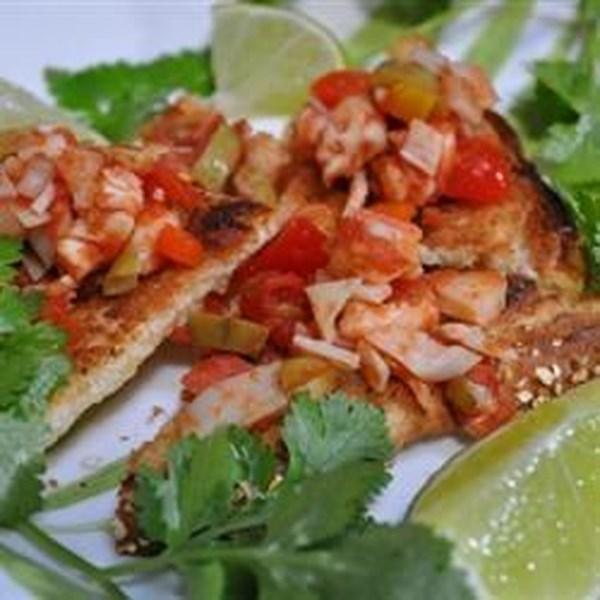 Receita de Seviche de Frutos do Mar de Eric e Debi