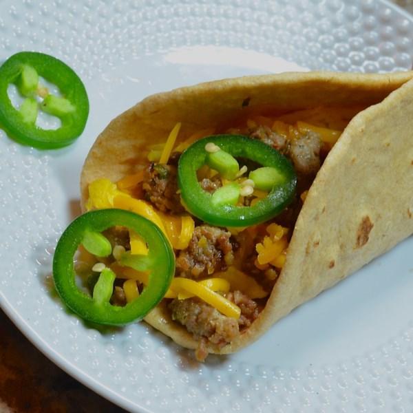 Receita de Tacos de Café da Manhã do Sudoeste