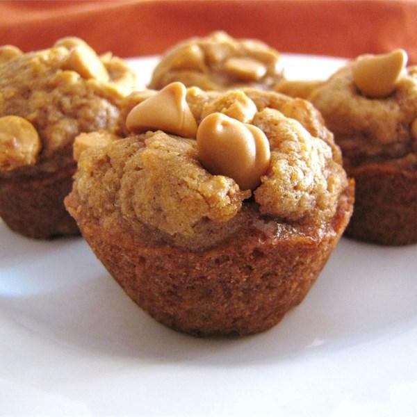 Mini Receita de Muffins de Manteiga de Abóbora