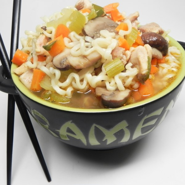 Sopa de Frango Chinês com Receita de Bok Choy