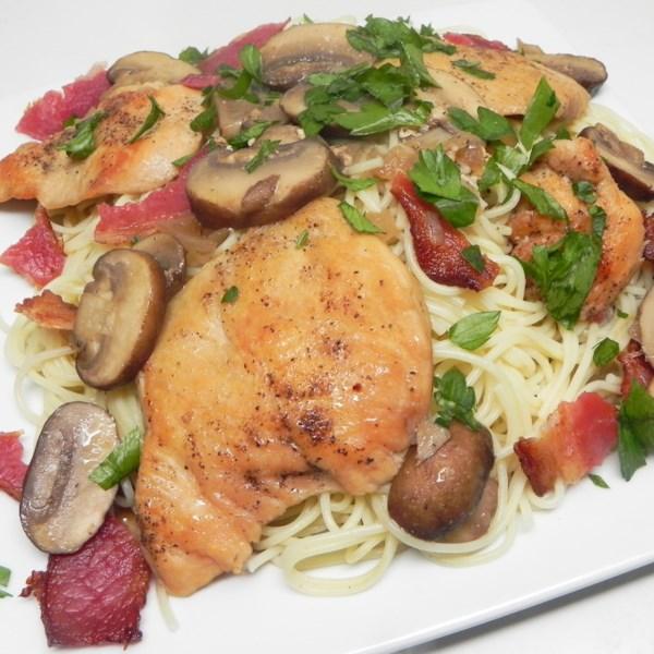 Receita de Paleo Chicken Marsala