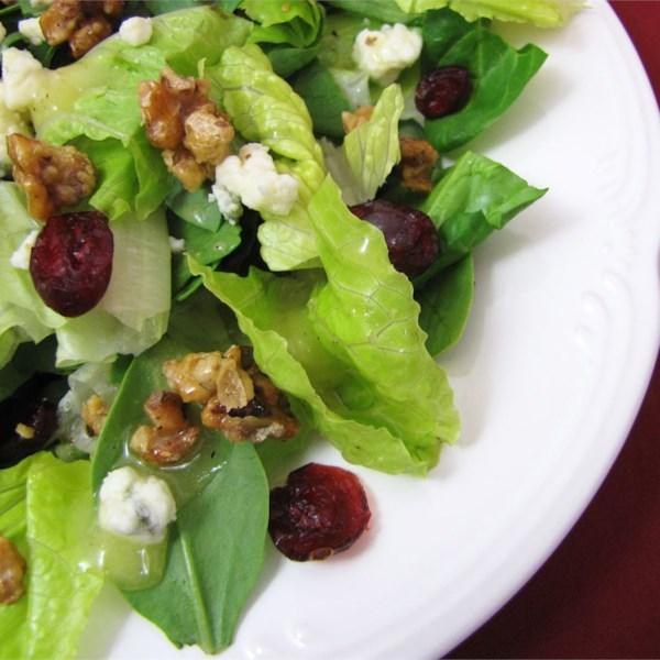 Receita de Salada de Gorgonzola de Nozes Cristalizada sacaneada