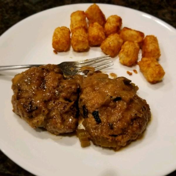 Salisbury Steak Slow Cooker-Style Receita