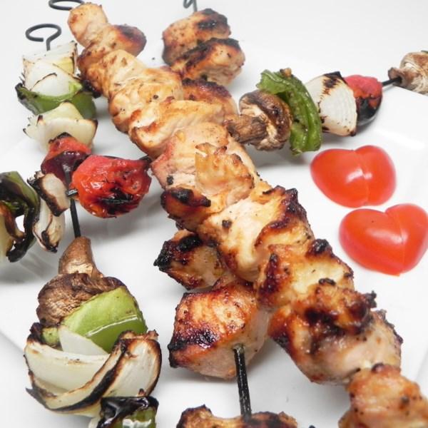 Receita de Kebabs de Frango