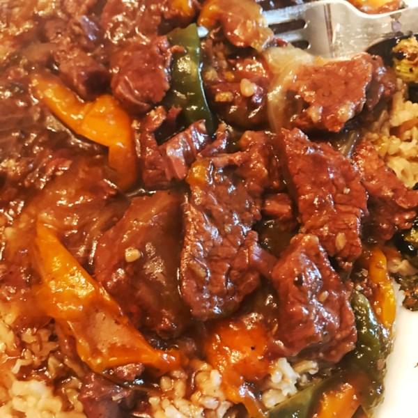 Receita de Carne Mongol de Pote Instantâneo (R)