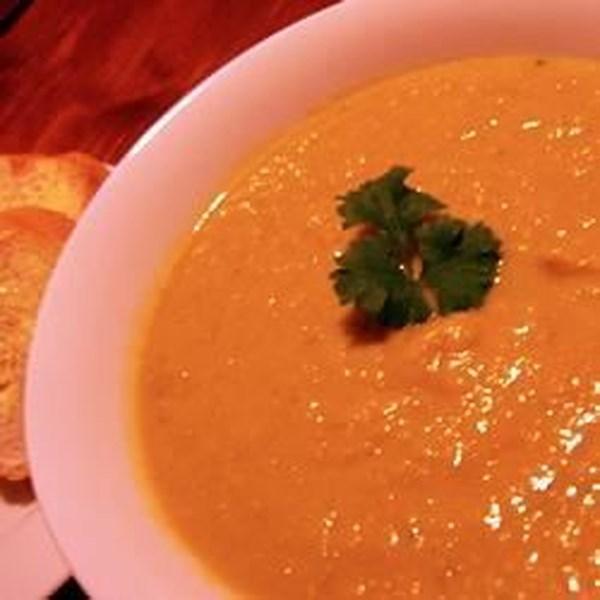Receita de Abóbora, Batata Doce e Sopa de Alho-poró