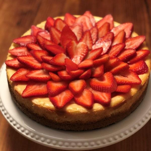 Receita de Cheesecake de Nova York de Chantal