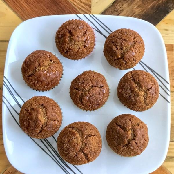 Receita de Muffins de Laranja Vegano e Sem Glúten
