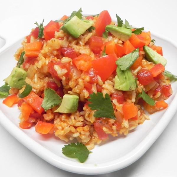 Receita de Arroz Espanhol Vegano