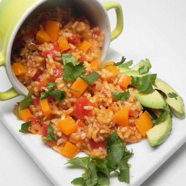 Receita de Arroz Espanhol Vegetariano