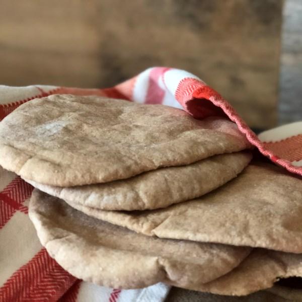Melhor receita de pão pita sem glúten