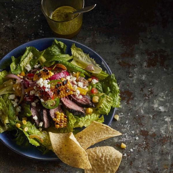 Receita de Salada de Filé de Coentro-Limão