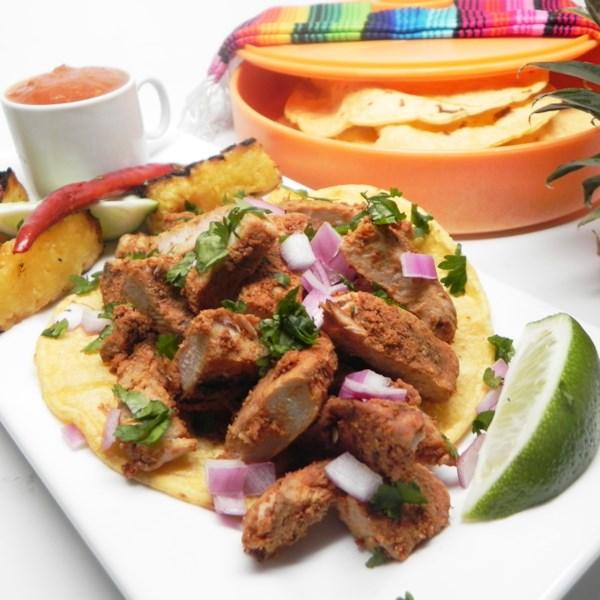 Receita de Tacos al Pastor