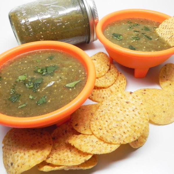 Receita de Layla's Green Tomato Salsa Verde