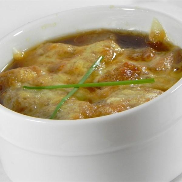 Receita de Sopa de Cebola Francesa IV