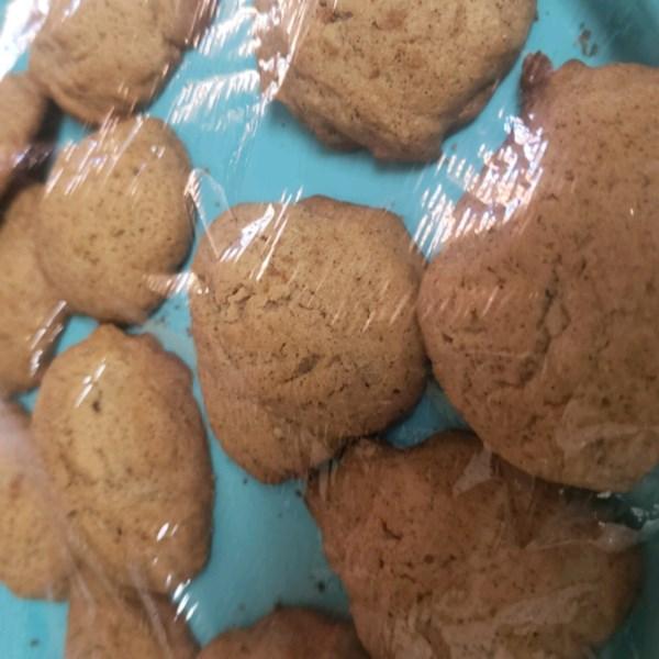 Receita de Biscoitos de Gota de Açúcar Mascavo da vovó
