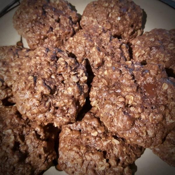 Receita de Biscoitos de Lactação De Chocolate Duplo Mastigado