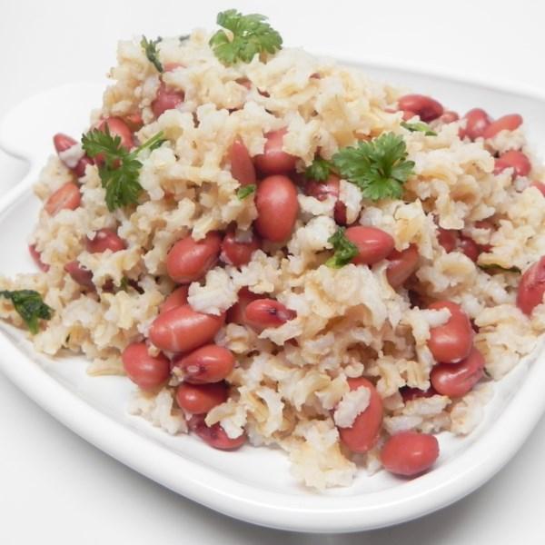 Cajun Meatless Red Beans e Receita de Arroz Integral