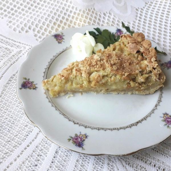 Receita de Rhubarb Custard Pie II