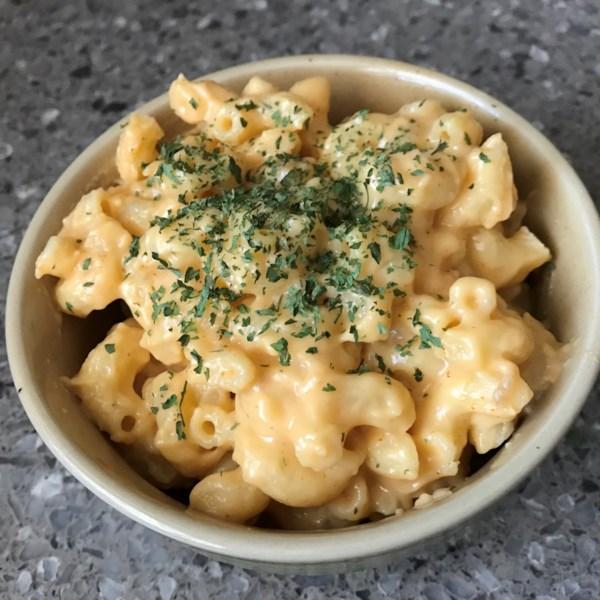 Receita simples de macarrão e queijo