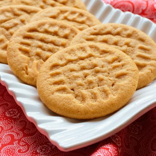 Receita de Biscoitos de Manteiga de Amendoim do Chef John