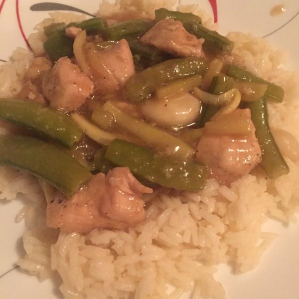 Receita chinesa de frango com alho