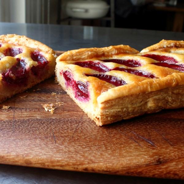 Receita de Torta frangipana de frutas frescas