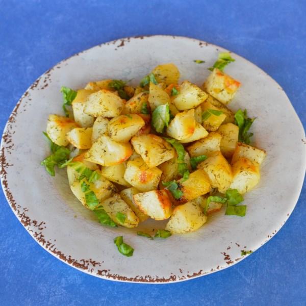 Receita de Batatas Assadas de Limão de Laura