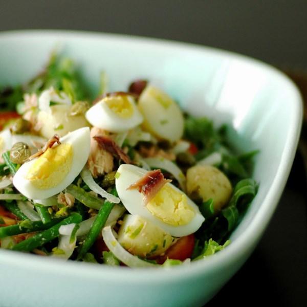 Receita de Nicoise salada