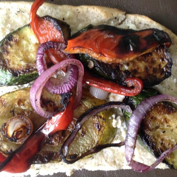 Receita de Sanduíche vegetariano grelhado da Califórnia