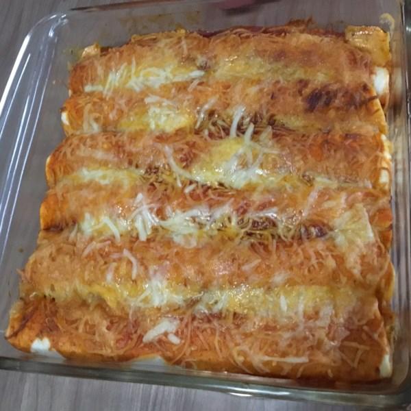 Receita de Frango Enchiladas I