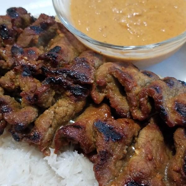 Como fazer receita de carne satay