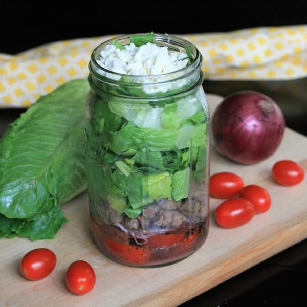 Receita de Salada de Filé de Mason Grego