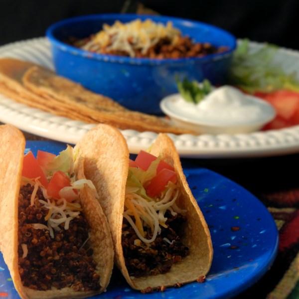 Instant Pot(R) Quinoa Taco Meat Substitute Recipe