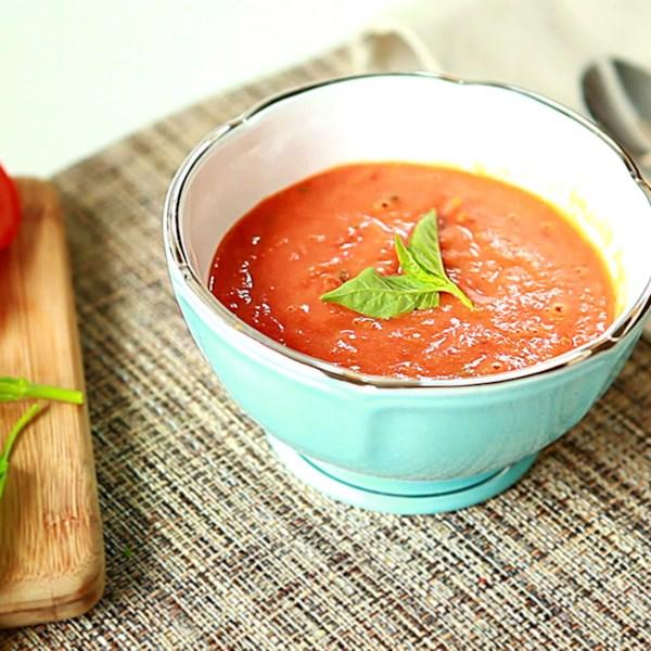 Receita de Sopa de Tomate Assado Quente ou Frio