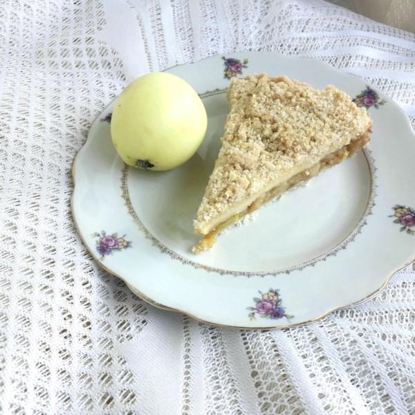 Receita de Torta de Creme de Manteiga de Maçã Quente