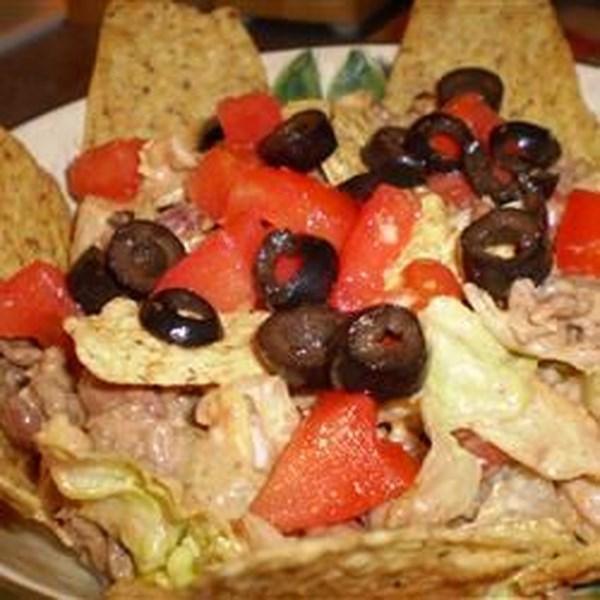 Receita de Salada de Taco Bagunçado