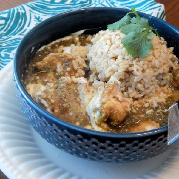 Korma de frango indiano na receita de panela lenta