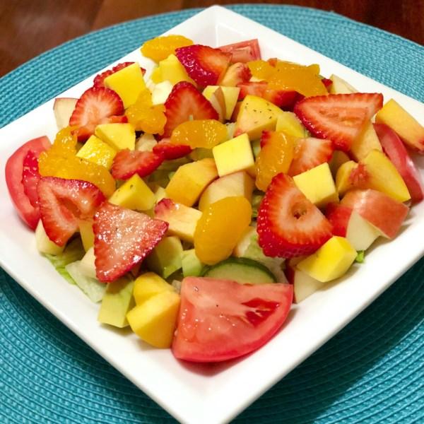 Receita de Salada de Café da Manhã Deliciosa