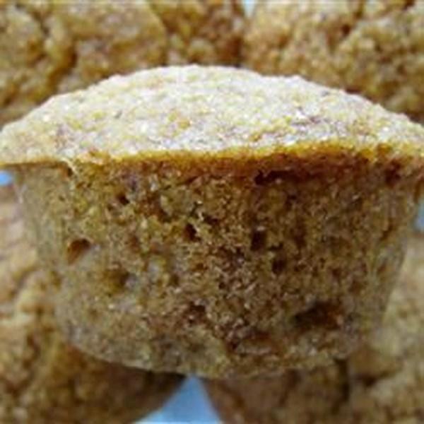 Receita de Muffins de Pão de Milho Vegano