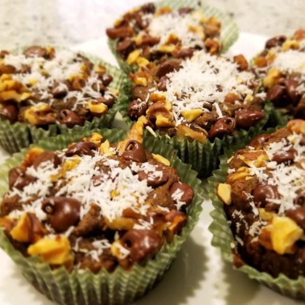 Receita de Muffins de Macaco Chunky