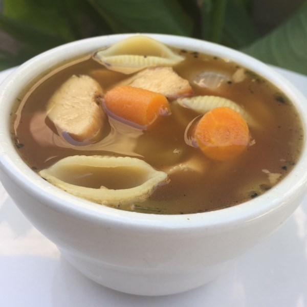 Receita de Sopa de Frango de Panela Instantânea (R)