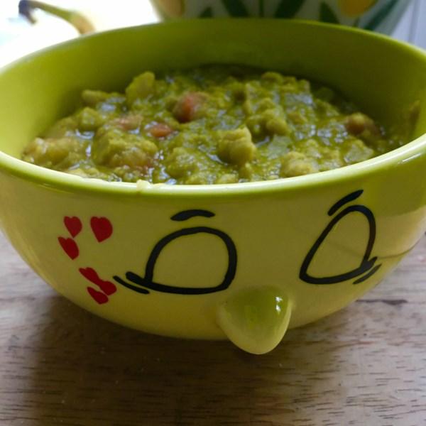 Receita de Sopa de Ervilha Dividida Vegana I
