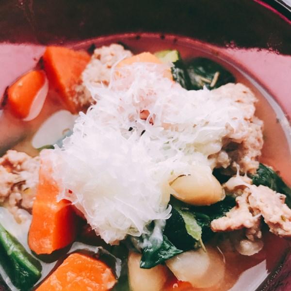 Receita de Sopa de Minestrone de Pote Instantâneo (R)