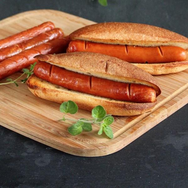 Receita básica de cachorro-quente da fritadeira