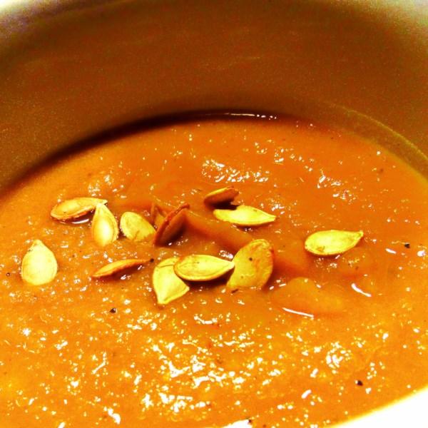 Receita de Bolota, Manteiga e Sopa de Maçã