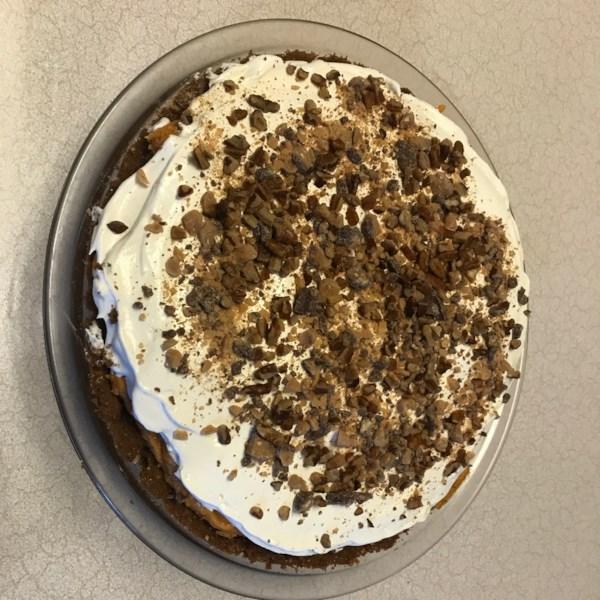 Receita de Torta de Creme de Toffee de Abóbora