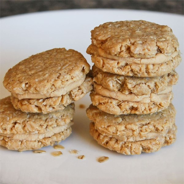 Receita de Biscoitos de Manteiga de Amendoim de Aveia III
